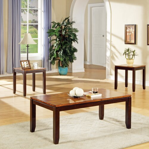 Abaco 3 Piece Coffee Table Set