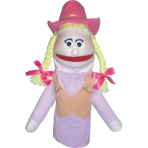 Get Ready Kids Cowgirl Puppet