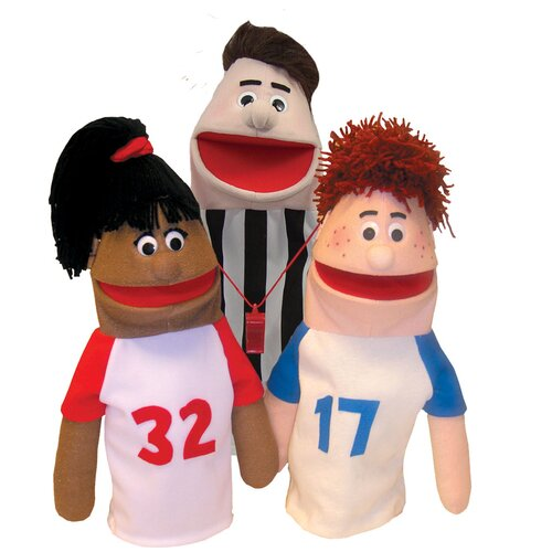 Get Ready Kids Anger is Not for Me Puppet Set
