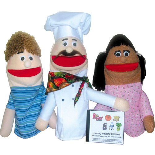 Making Healthy Choices Puppet Set