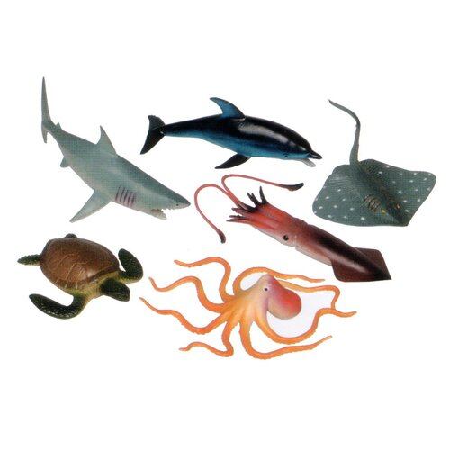 Ocean Animal Play Set (Set of 6)