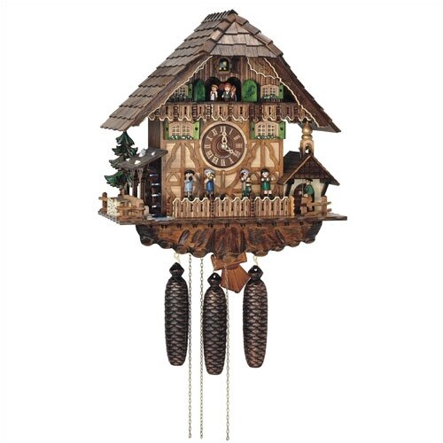 Schneider 8 Day Movement Cuckoo Wall Clock