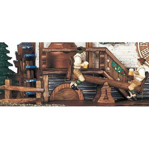 Schneider Bavarian Chalet Wall Clock