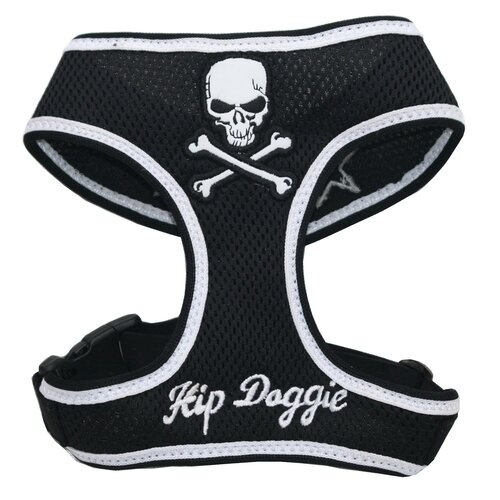 Skull Mesh Dog Harness Vest