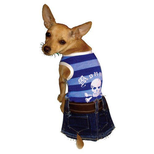 Monster Denim Mini Dog Dress