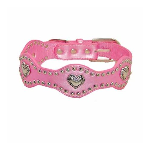 Hip Doggie Heart Wave Dog Collar