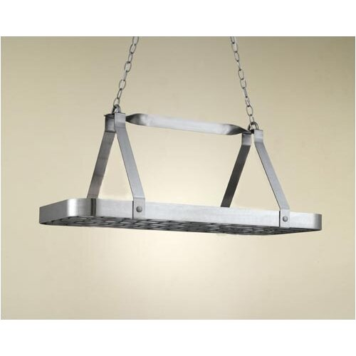 Hi-Lite Sterling Rectangular Hanging Pot Rack