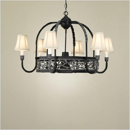 Hi-Lite Napa Chandelier Pot Rack
