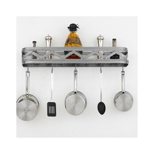 Hi-Lite Sonoma Wall Mounted Pot Rack