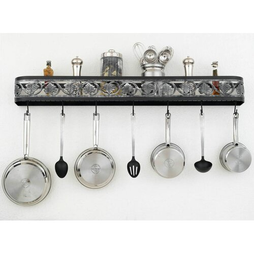 Hi-Lite Leaf Wall Mounted Pot Rack