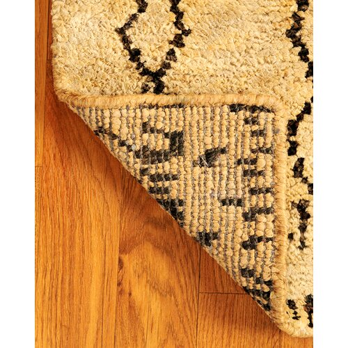 Jute Tan Moonwalk Rug