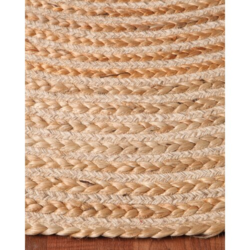 Capistrano Jute Oval All Natural Fibers Hand Braided Area