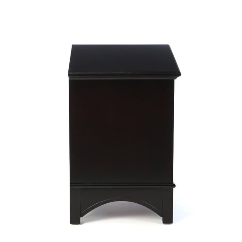 Alpine Furniture Del Mar 2 Drawer Nightstand