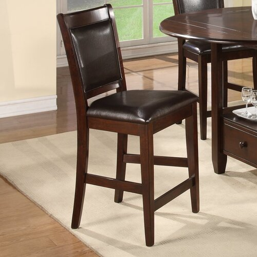 Alpine Furniture Morgan Bar Stool with Cushion
