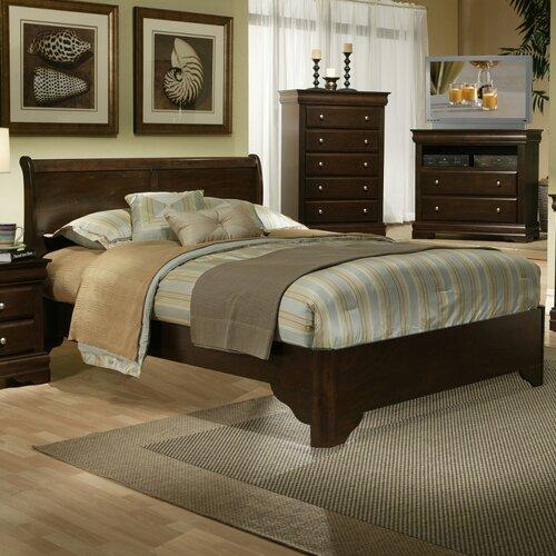 Alpine Furniture Chesapeake Sleigh Bed