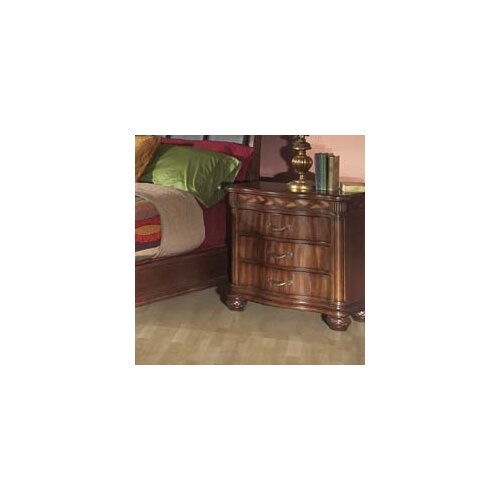 Alpine Furniture Lafayette 3 Drawer Nightstand