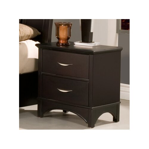 Alpine Furniture Del Mar 2 Drawer Nightstand