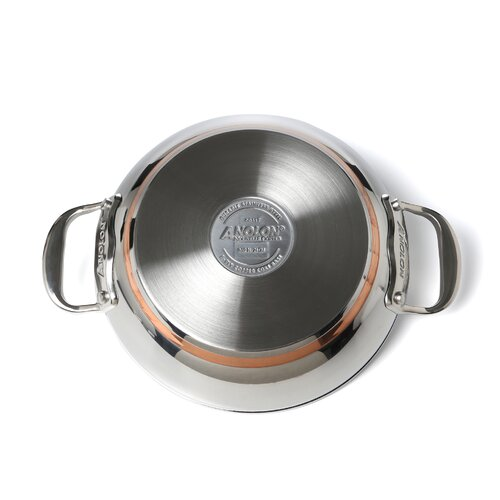 "Anolon Nouvelle Stainless 9.5"" Skillet"
