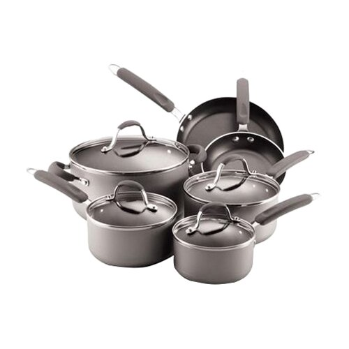 Enhanced 10-Piece Nonstick Cookware Set