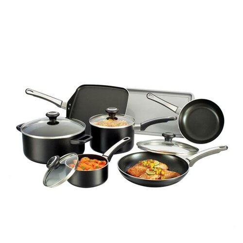 Farberware High Performance Nonstick 12-Piece Cookware Set