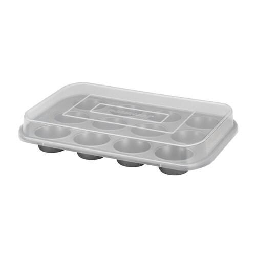 12-Cup Covered Muffin Pan