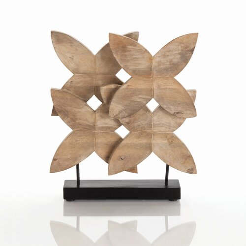 ARTERIORS Home Ella Carved Wood Sculpture