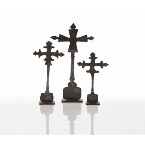 ARTERIORS Home 3 Piece Ivan Cross Sculpture Set