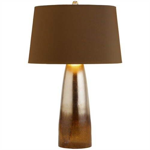 """ARTERIORS Home Leopard 23.5"""" H Table Lamp with Empire Shade"""