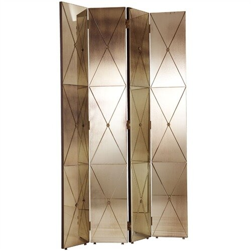 "ARTERIORS Home 79"" x 48"" Stephan 4 Panel Room Divider"