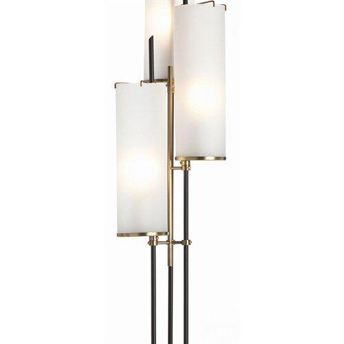 arteriors home stefan 3 light torchiere floor lamp reviews wayfair. Black Bedroom Furniture Sets. Home Design Ideas