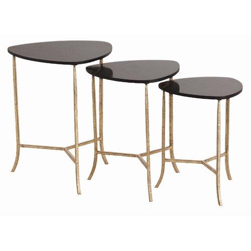 Gold Nesting Tables ~ Gold finish nesting tables wayfair