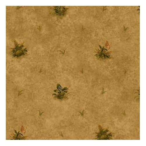 4 Walls Lodge Décor Woodland Toss Floral Botanical Wallpaper