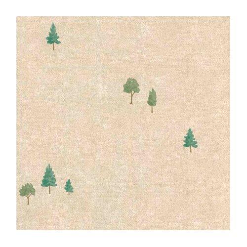 4 Walls Lodge Décor Tree Toss Floral Botanical Wallpaper