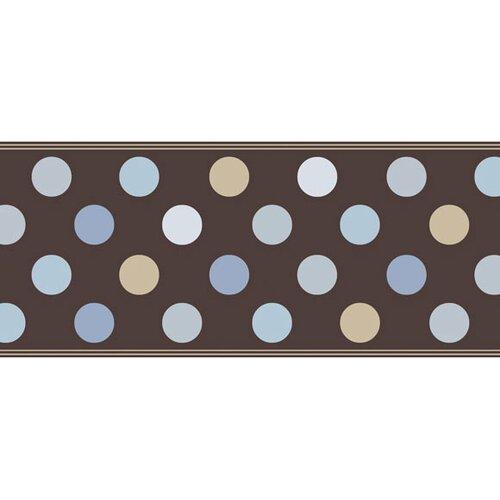 4 Walls Candy Polka Dot Wallpaper Border