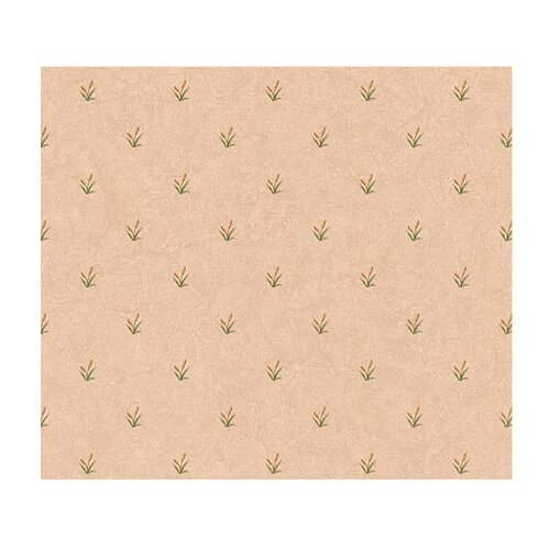 4 Walls Lodge Décor Cattail Mini Floral Botanical Wallpaper