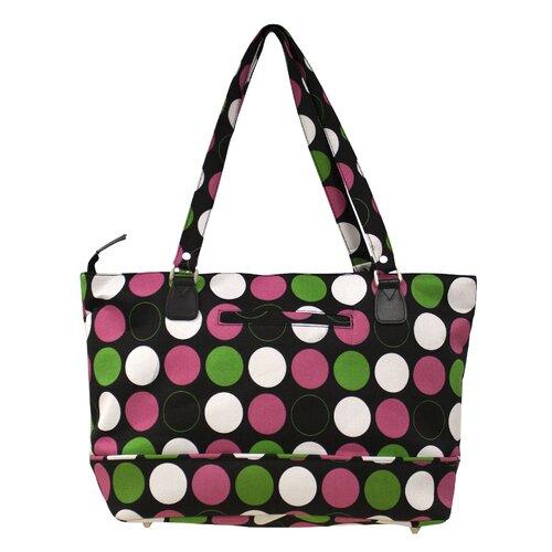 Jenni Chan Multi Dots Computer Tote Bag