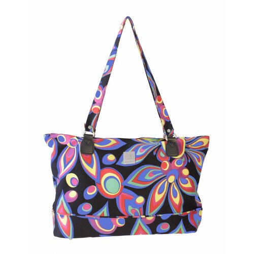 Wild Flower Computer Tote Bag