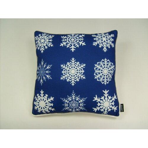 lava Lava Falling Snowflakes Pillow