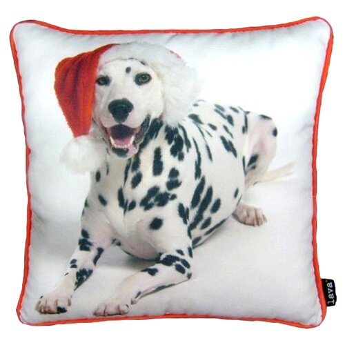 lava Holiday Dalmation Pillow