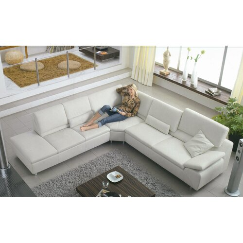 Stanton Elite Leather Sectional
