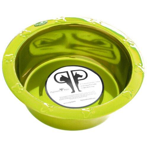 Wide Embossed Rim Bowl