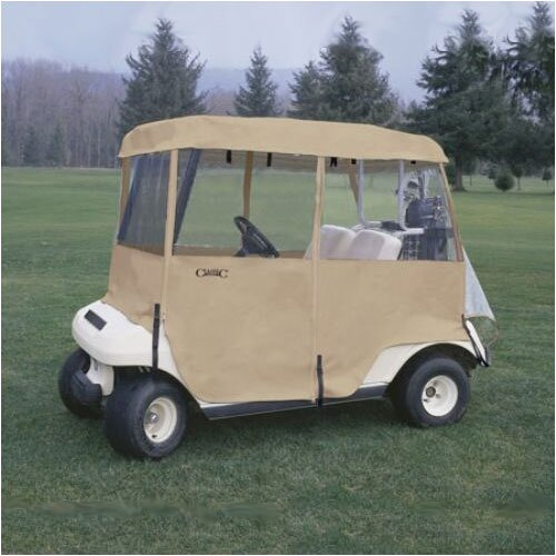 Classic Accessories Fairway Deluxe 4 Sided Golf Car Enclosure