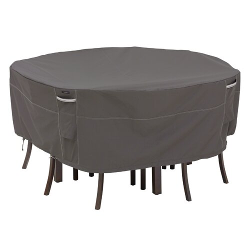 accessories ravenna round patio table and chair set cover 55