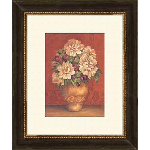 Pro Tour Memorabilia Tuscan Hydrangeas B Framed Painting Print