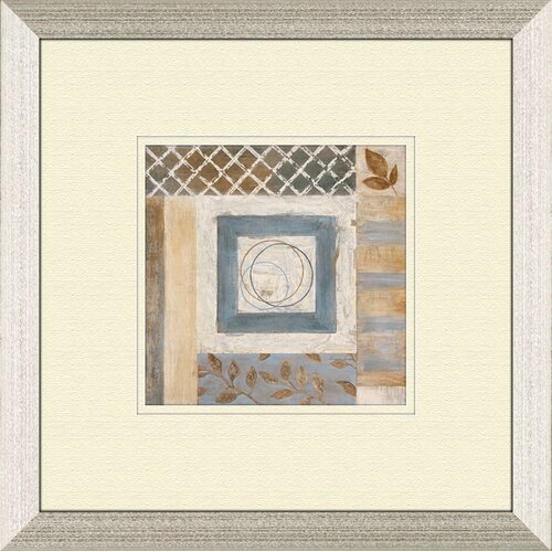 Pro Tour Memorabilia Abstract Plan A Framed Painting Print