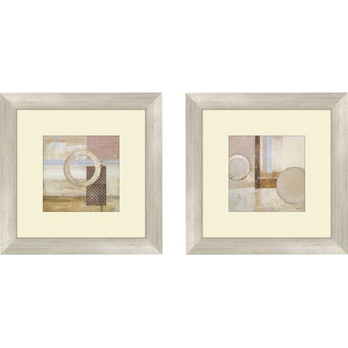 Pro Tour Memorabilia Contemporary Dream Decoder 2 Piece Framed Painting Print Set