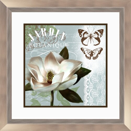 Pro Tour Memorabilia Botanical 2 Piece Garden Framed Graphic Art