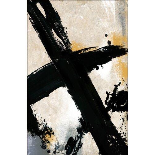 Pro Tour Memorabilia Lines Painting Print on Canvas