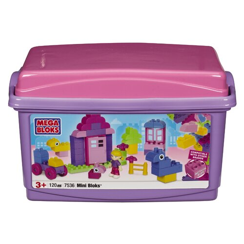 Mega Brands Mini Bloks Pink Tub 120