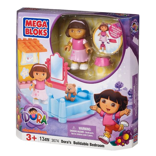 Nickelodeon Dora the Explorer Buildable Bedroom